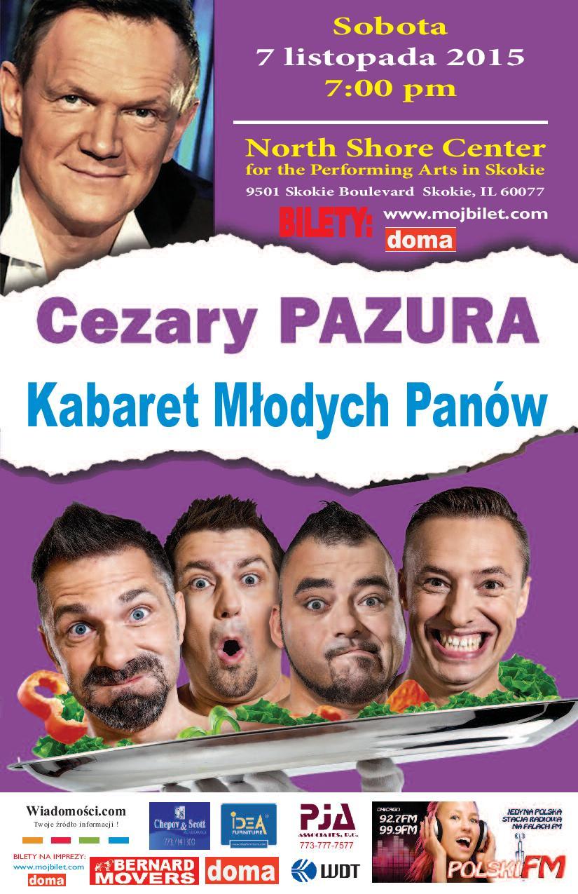 Cezary Pazura i Kabaret Mlodych Panow.