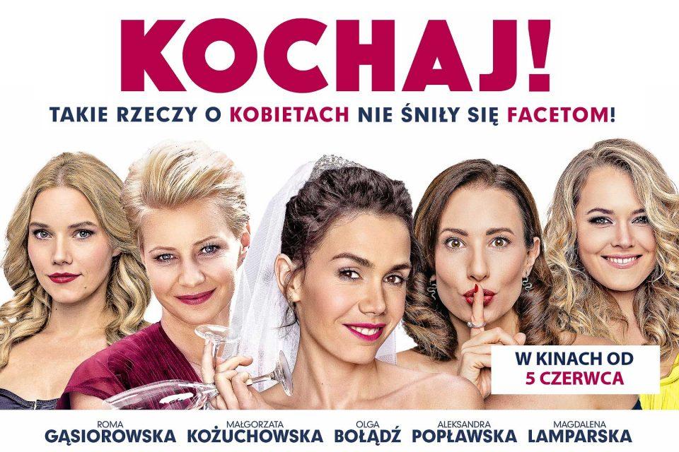 "Komedia romantyczna- film ""Kochaj"" – Sobota  8:00PM"