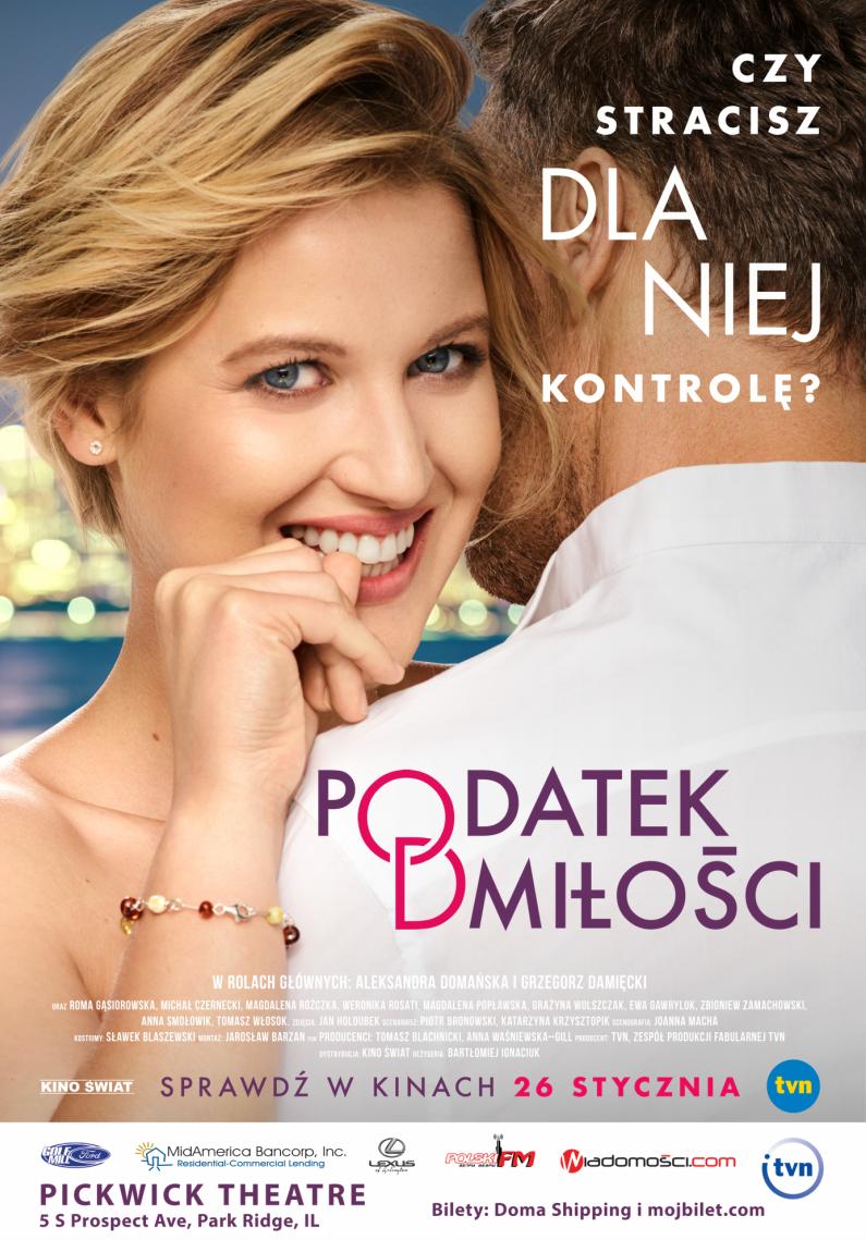 """""""Podatek od Miłości"""" – Big Cinemas, NILES – sobota 8pm"""