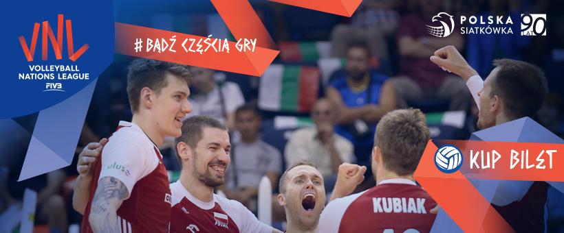 POLSKA – SERBIA  Siatkarska Liga Narodów 2018 w Chicago – niedziela