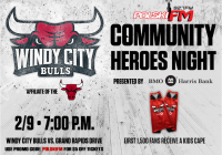 """Polska Noc"" podczas Windy City Bulls Community Heroes Night"