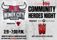 """Polska Noc"" podczas Windy City Bulls Community Heroes Night"