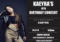 Kaeyra's 18th Birthday Concert