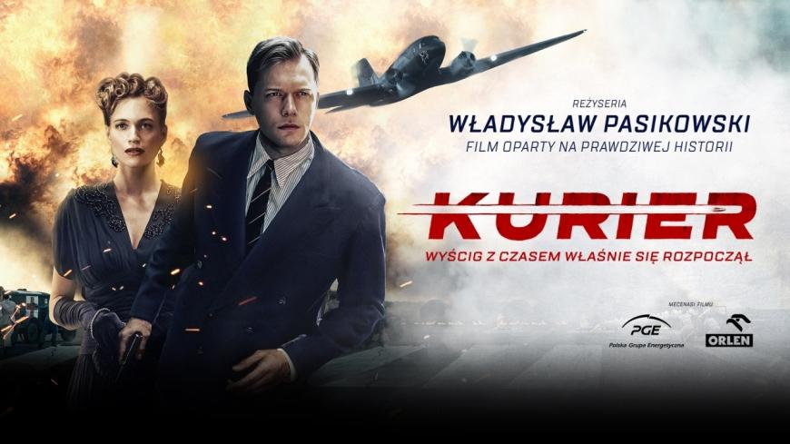 KURIER – najnowszy film Władysława Pasikowskiego, niedziela 5pm